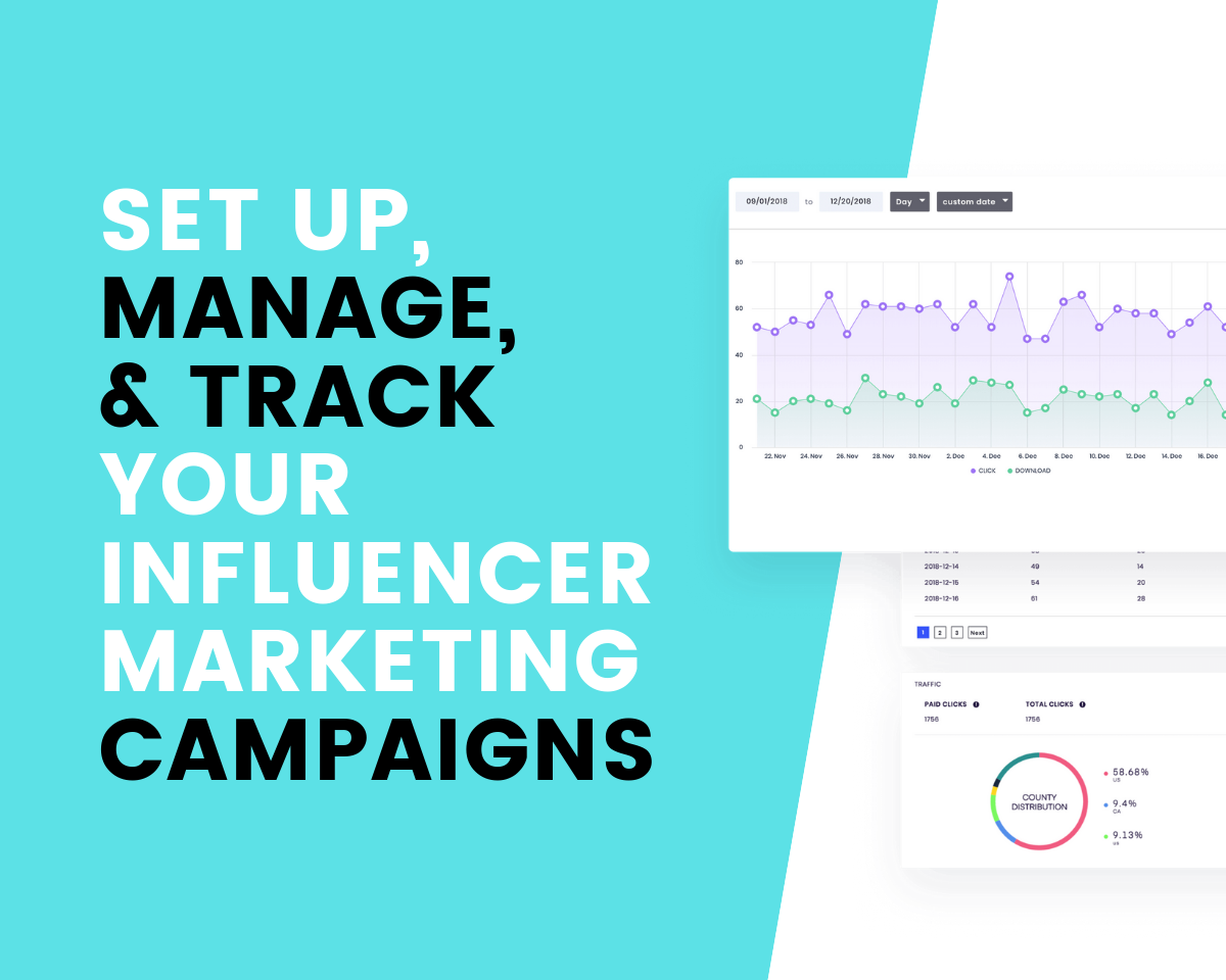 Set up, manage, and track your influencer marketing campaigns with SocialBook!