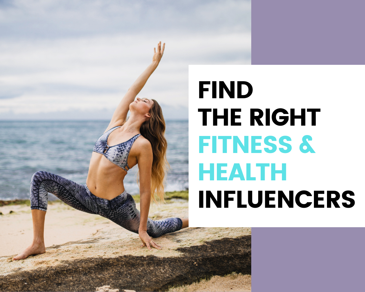 Find Health and Fitness Influencers