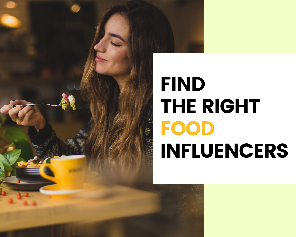 Find Food Influencers