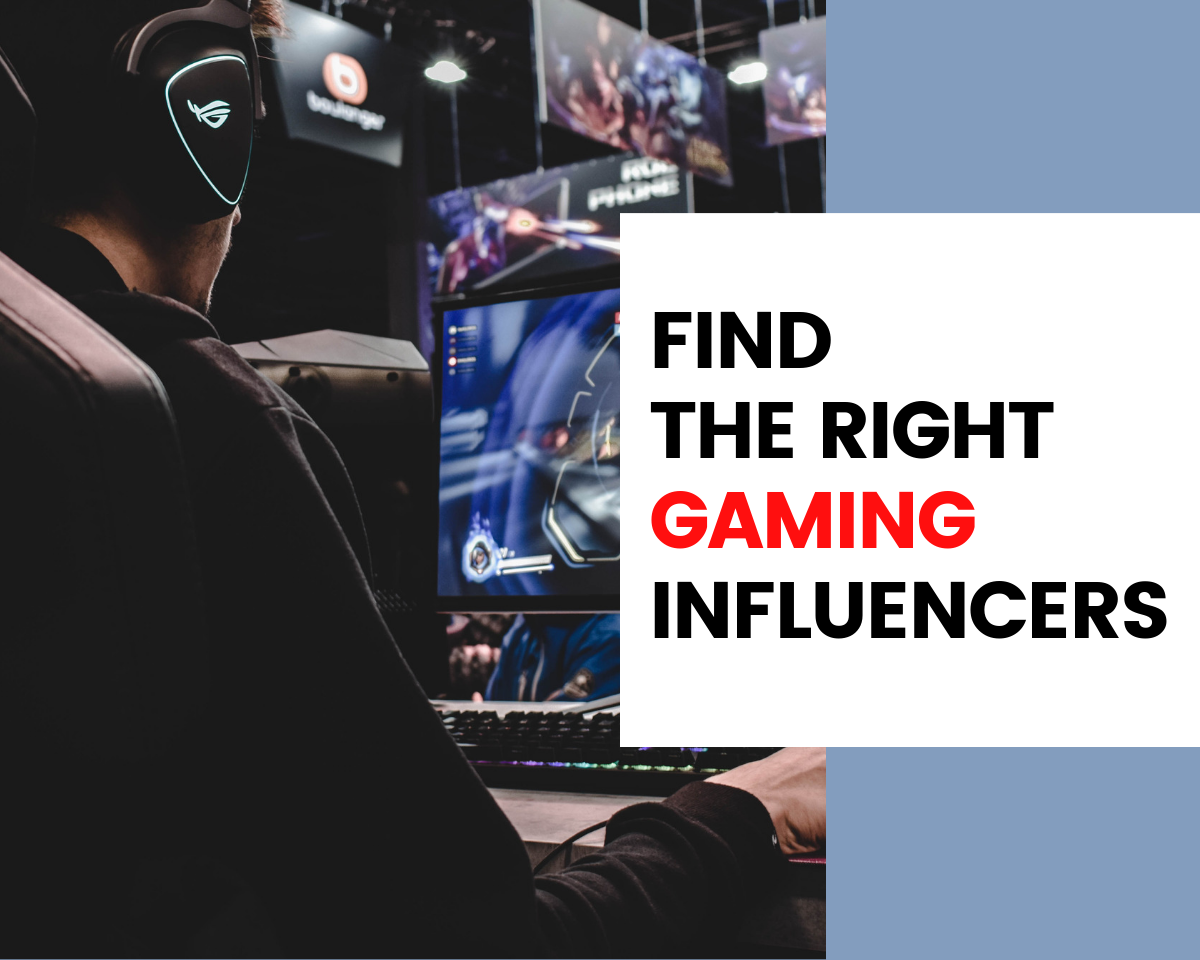 Find Gaming Influencers