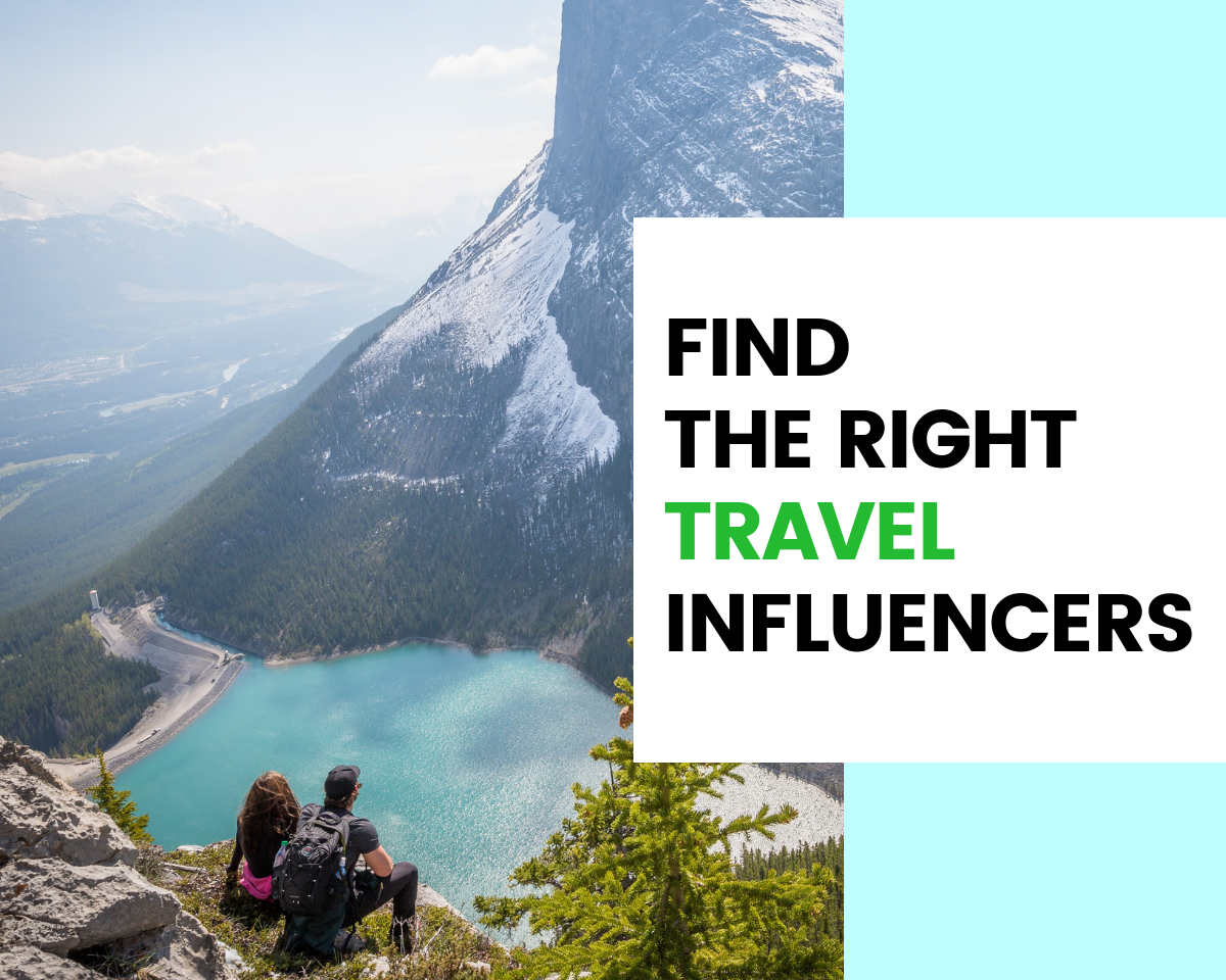Find Travel Influencers