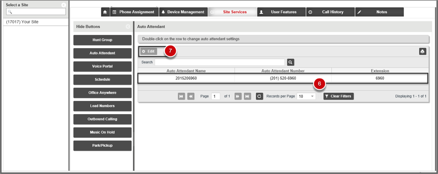 Manage my auto attendant verizon bdv support 9 by default the phone number assigned to the auto attendant displays in the auto attendant name field you can change the default number by kristyandbryce Image collections