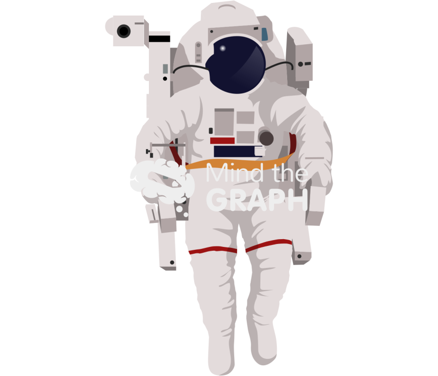 aerospace suit astronaut front