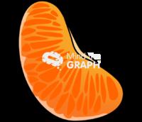Citrus deliciosa piece