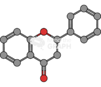 Flavanone molecule