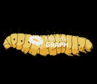 Galleria mellonella caterpillar lateral