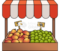 Market fruits front