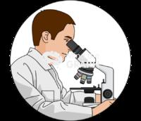 Microscope exam