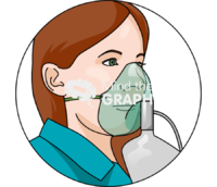 Oxygen face mask zoom