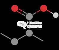 Poly acrylic acid molecule