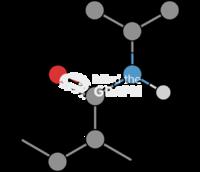 Poly n isopropylacrylamide molecule