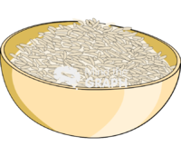 Portion rice