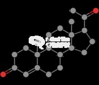Progesterone molecule