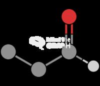 Propanal molecule