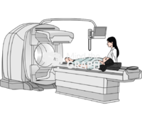 Spect ct machine scan equipment perspective 3