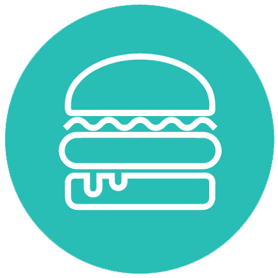 Icono hamburguesas
