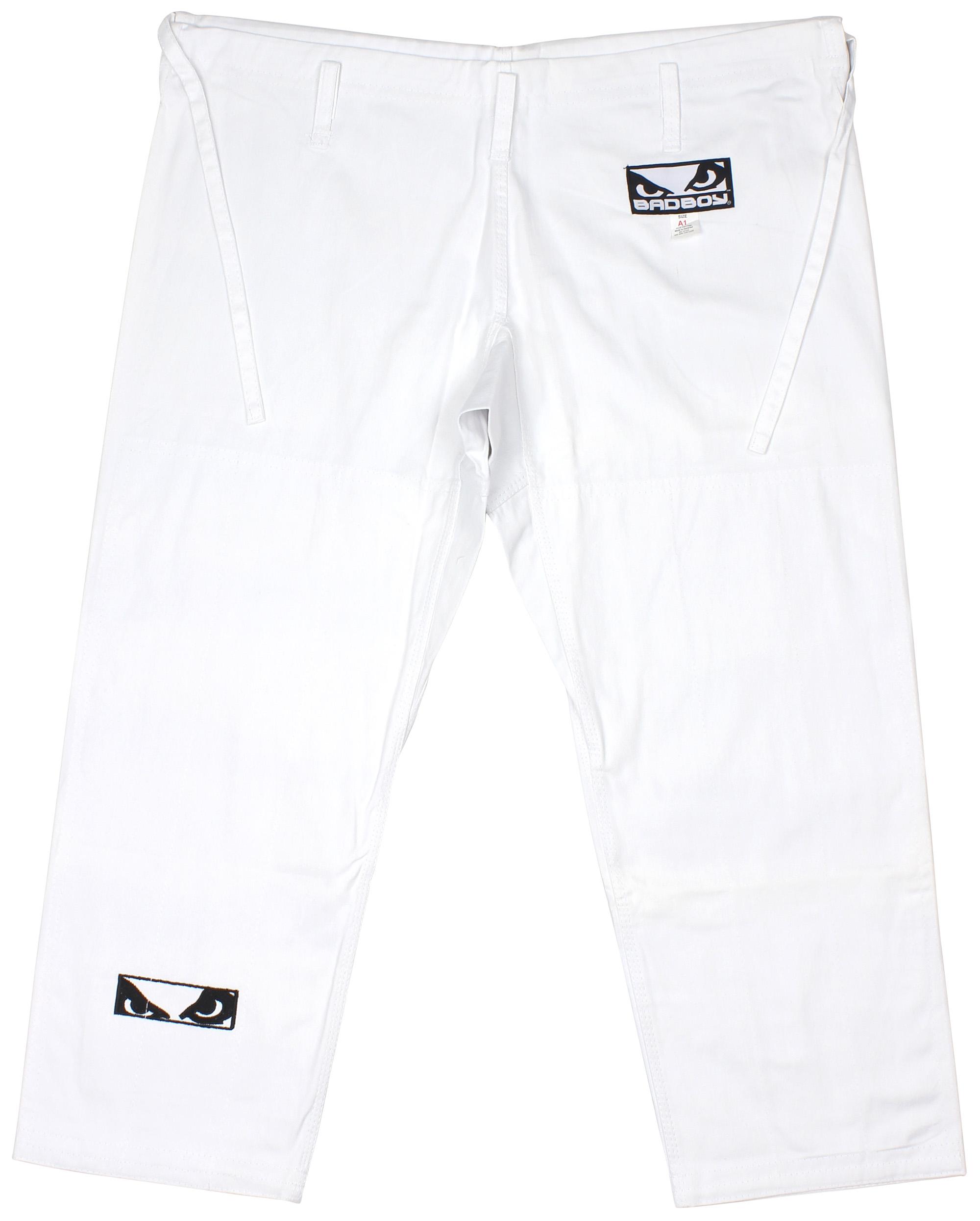 Bad Boy Standard Jiu-Jitsu Bjj Einzeln Gewebe Gewebe Gewebe Gi (Weiß) 17b3ff