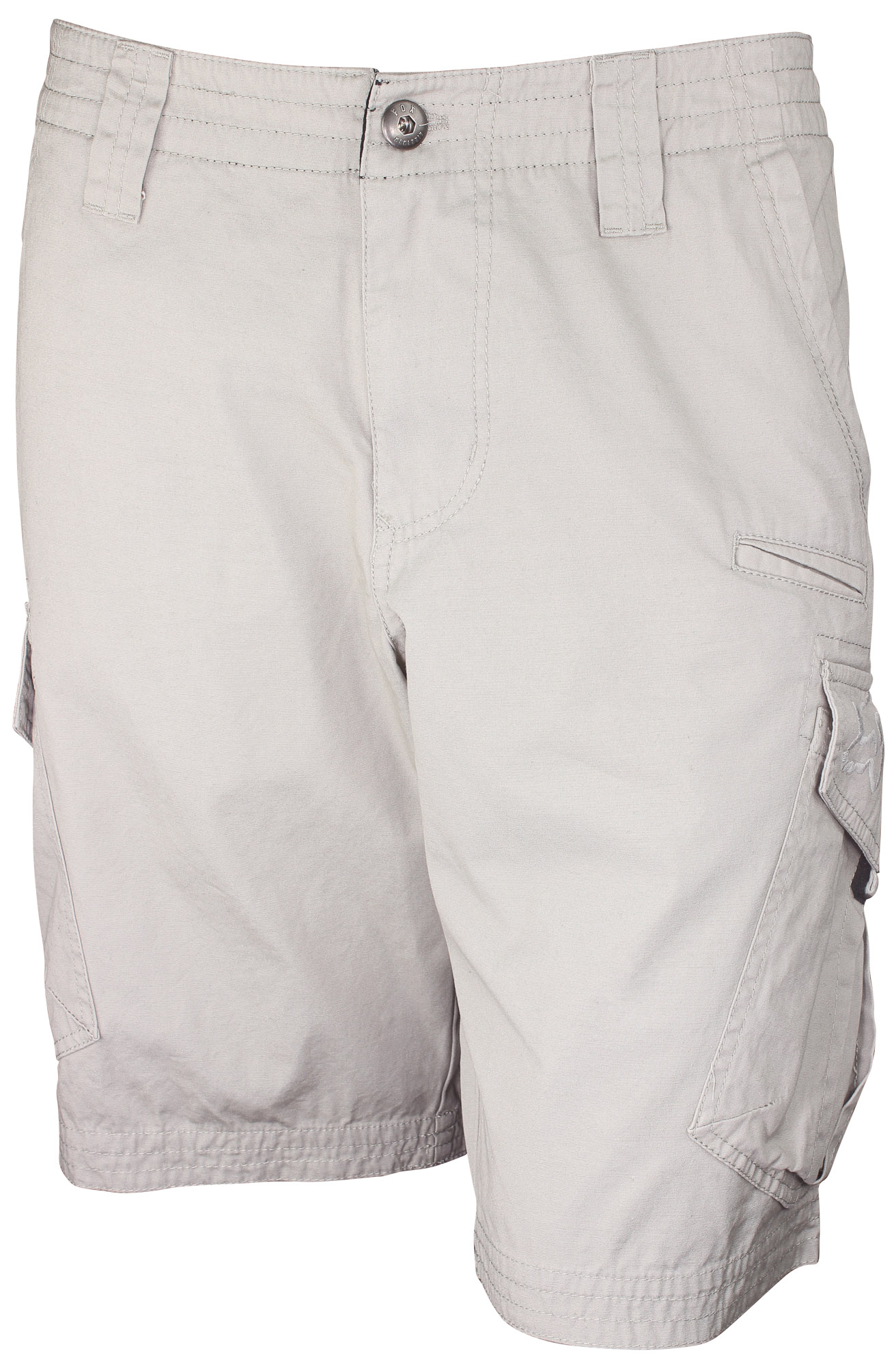faf25bb372 Image is loading Fox-Racing-Mens-Slambozo-Casual-Cargo-Shorts-Stone-