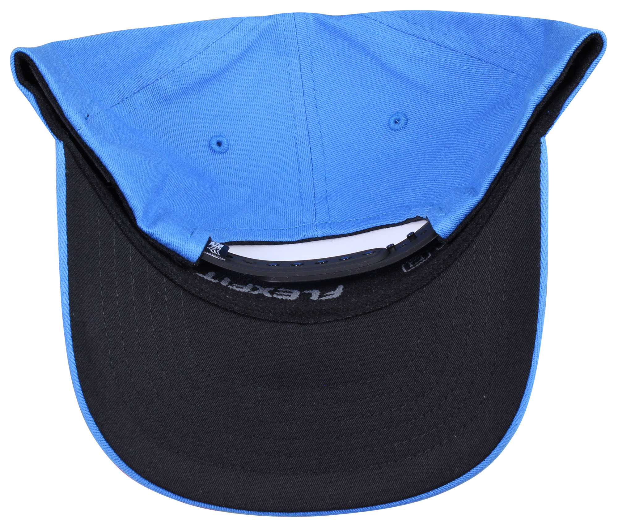 5e752ac500aed0 Fox Mens 110 Curved Bill Snapback Hat Acid Blue OS 19584-588 Baseball Caps
