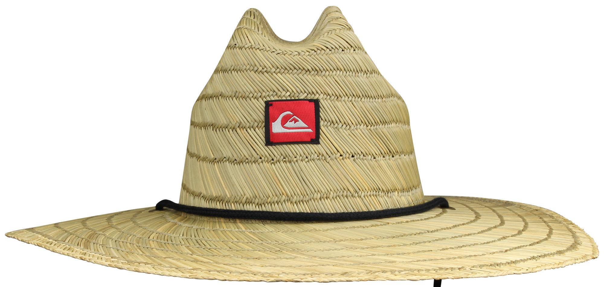 Quiksilver Mens Pierside Wide Brim Hat - Straw Brown  ae4806e764f