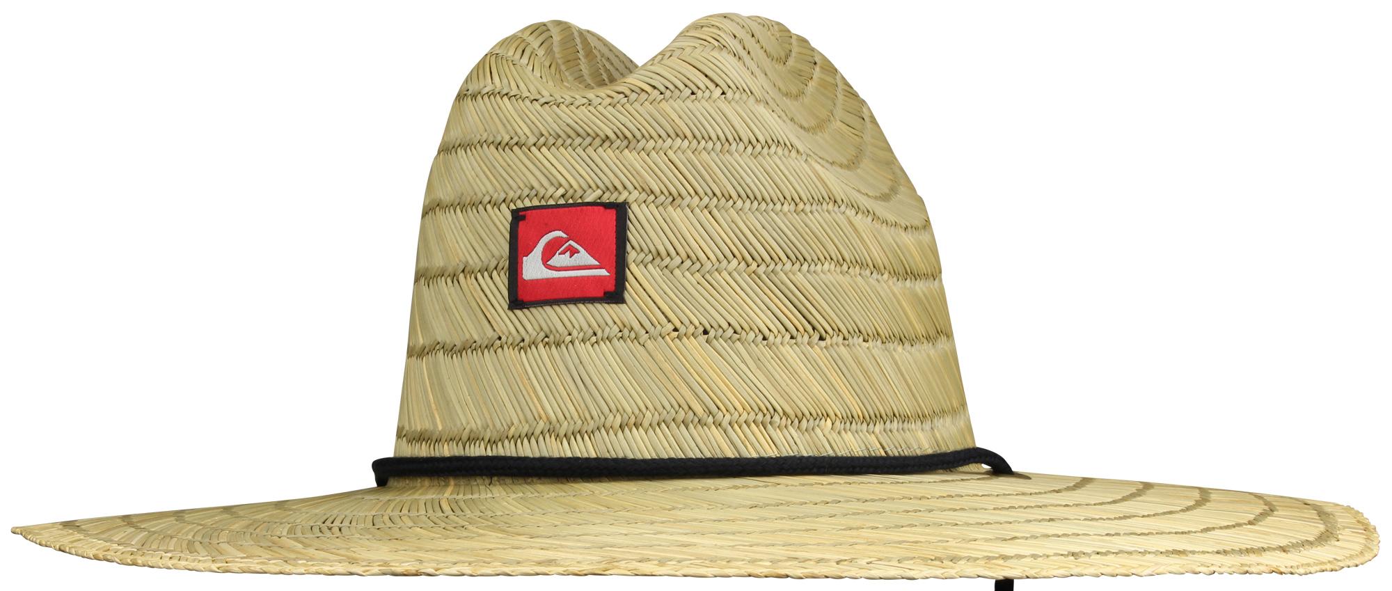 Quiksilver Mens Pierside Wide Brim Hat - Straw Brown  dba4ca15c29