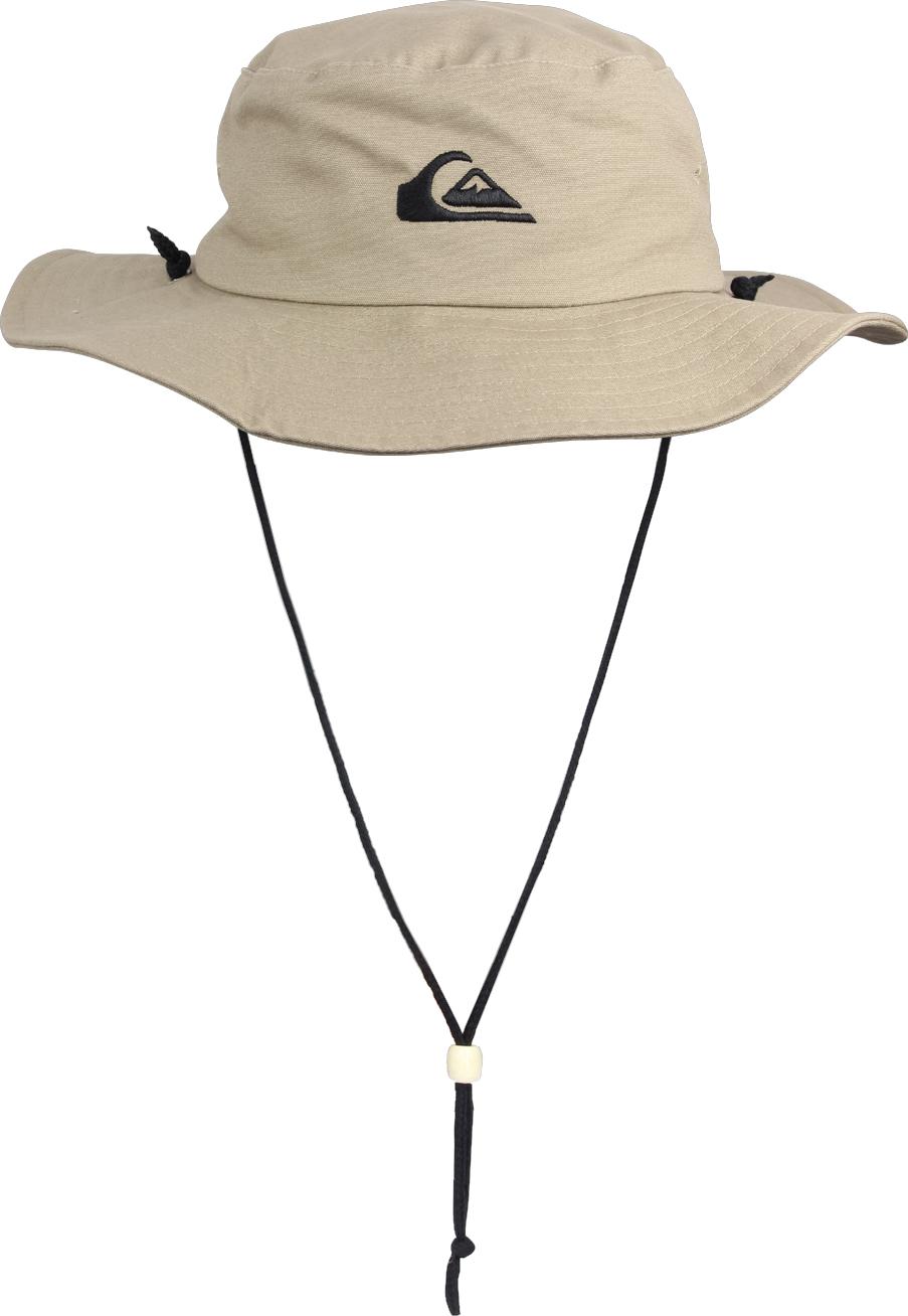 66fbd08ae956d Details about Quiksilver Mens Bushmaster Safari Hat - Khaki - Large XL