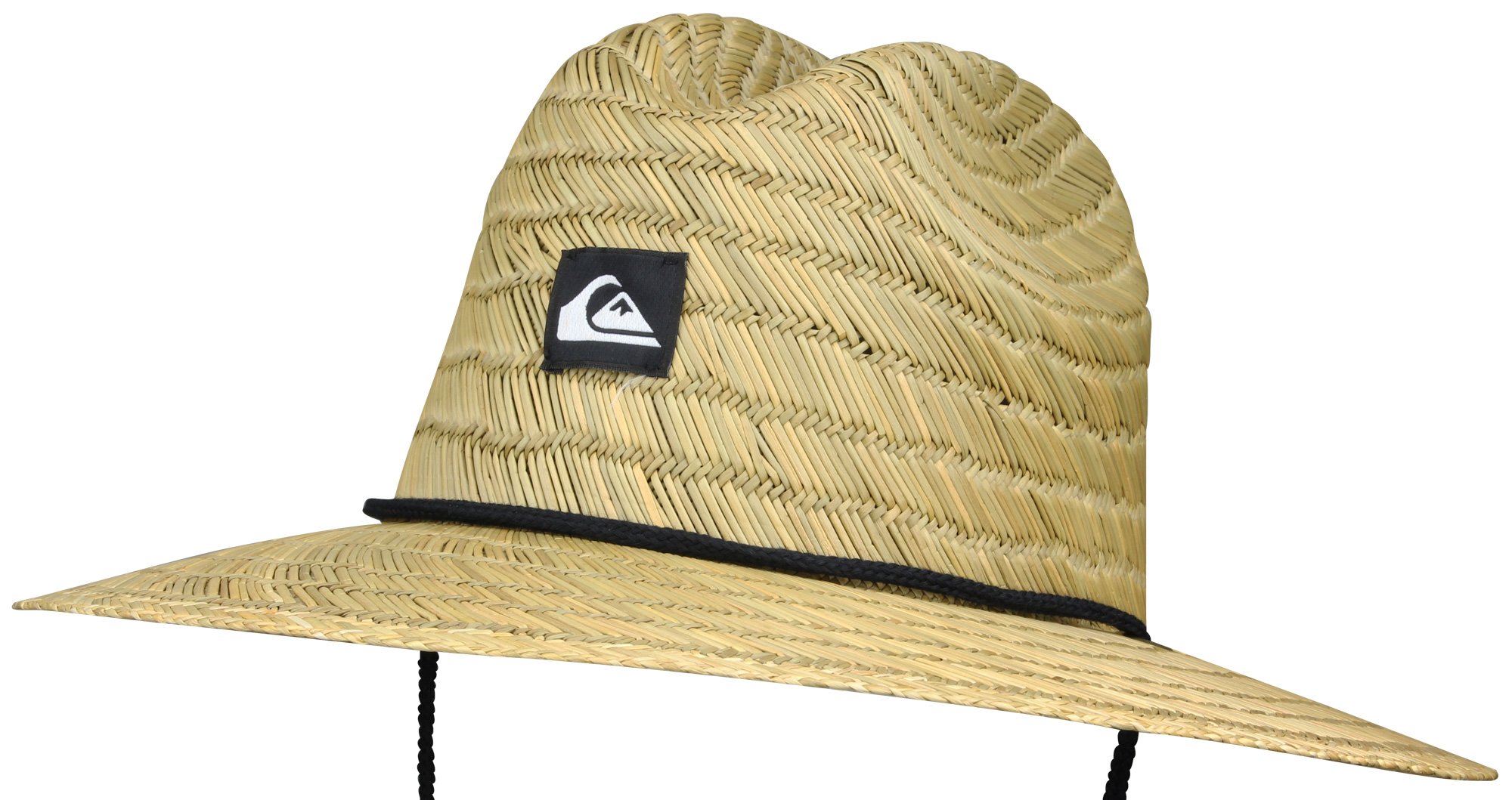 Quiksilver Mens Pierside Slim Brim Hat - Straw Brown  b4b8b33c2a88