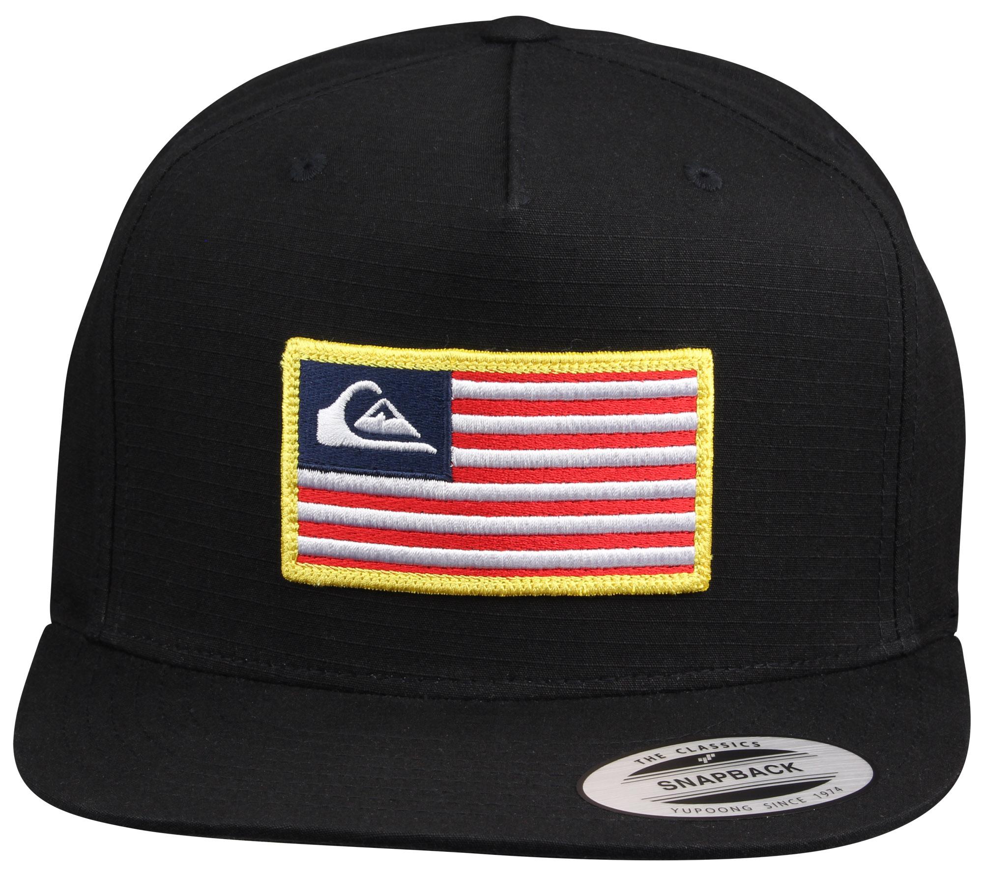 newest 7bc11 92cf0 Quiksilver Tonal Pride Snapback Hat (Black) 2 2 of 5 ...