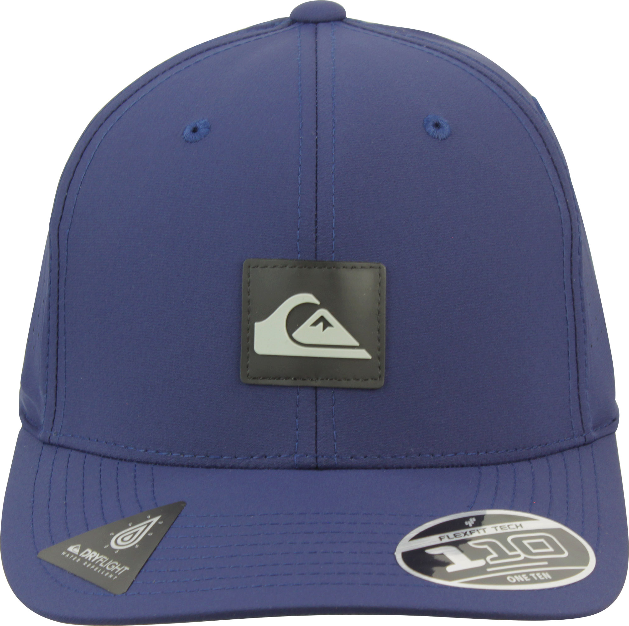 7d9cb109bb1 Quiksilver Mens Adapted 110 Amphibian Strapback Adjustable Hat ...