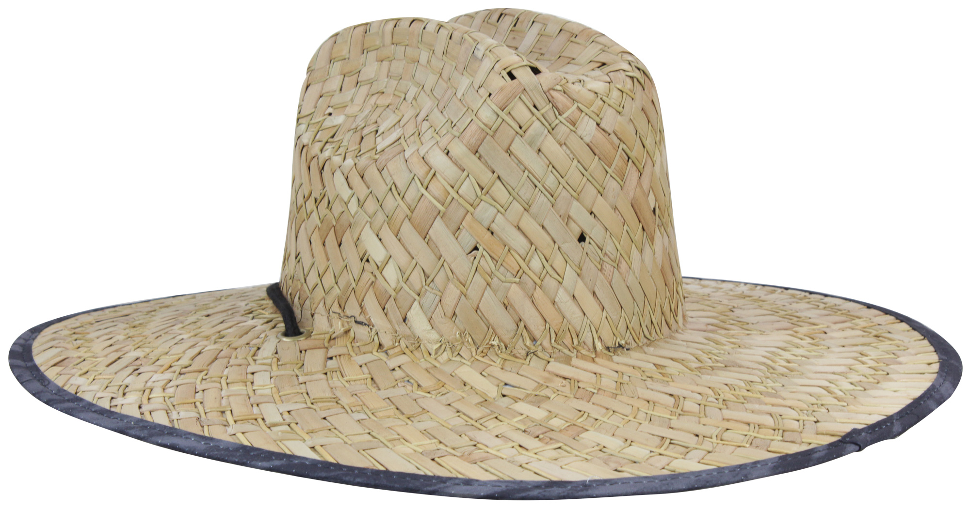 Quiksilver Mens Outsider Repent Wide Brim Lifeguard Straw Sun Hat ... f50557941c68