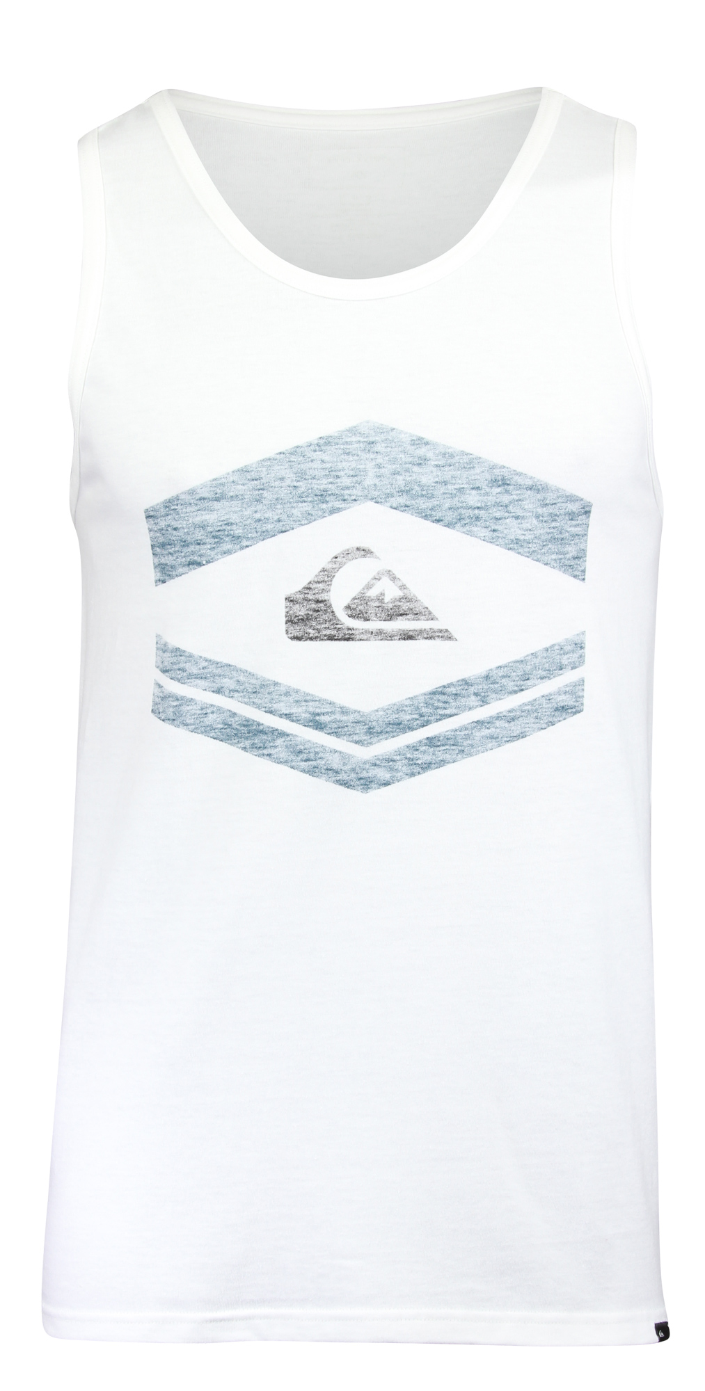 Quiksilver Friendly Fire Tank Top (White Blue)  5f2392af923