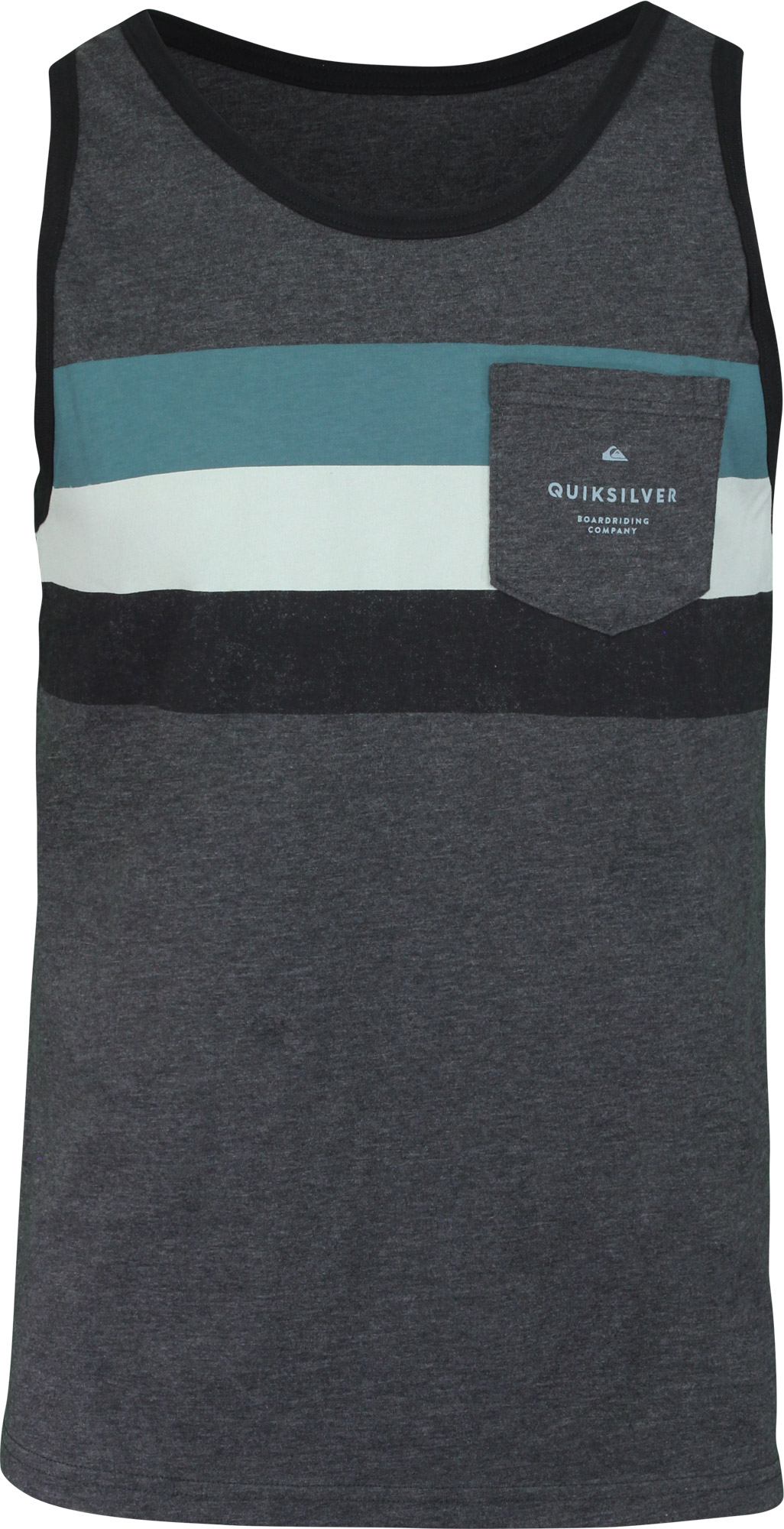 a482b53ebd084 Quiksilver Mens Peaceful Progression Tank Top - Charcoal Heather