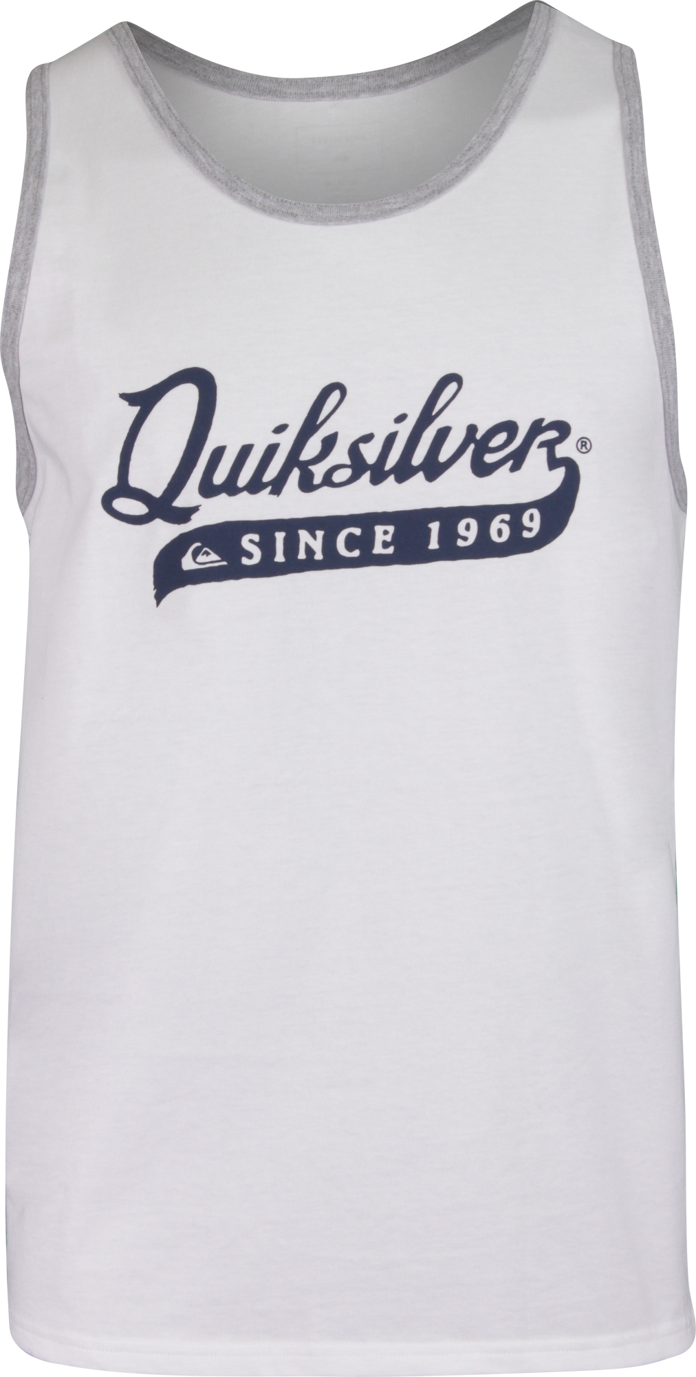 Details about Quiksilver Mens Edgy Tank Top - White 3db97642ba7