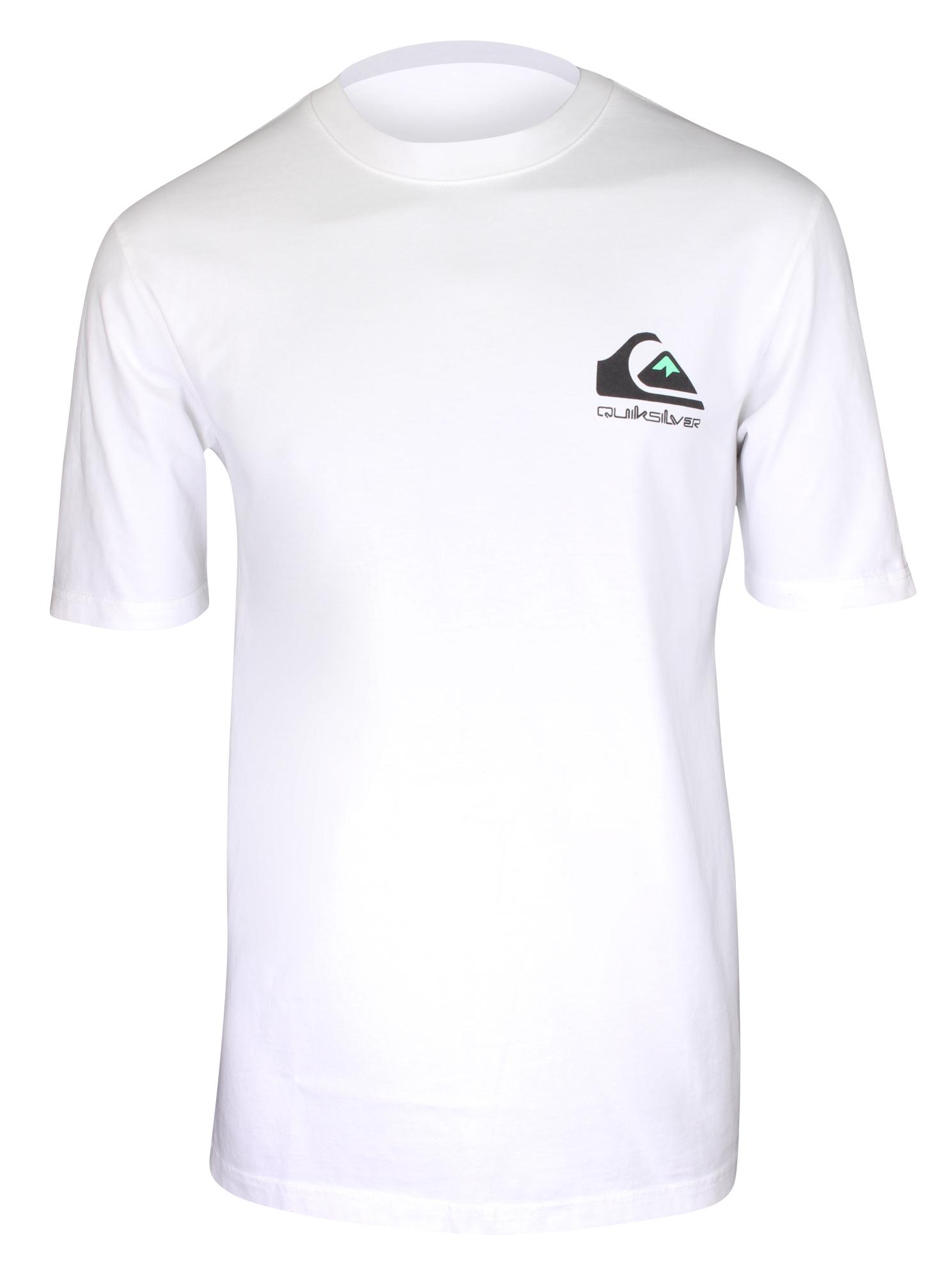 Quiksilver Mens Omni Original T-Shirt White