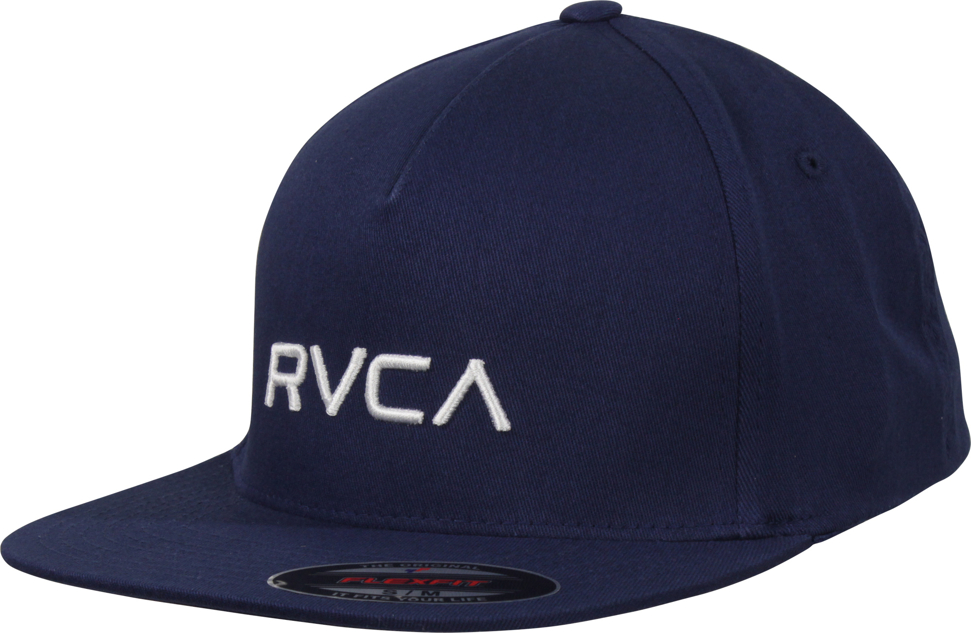 cdfde42d Details about RVCA Mens VA Sport Flexfit Hat - Seattle Blue