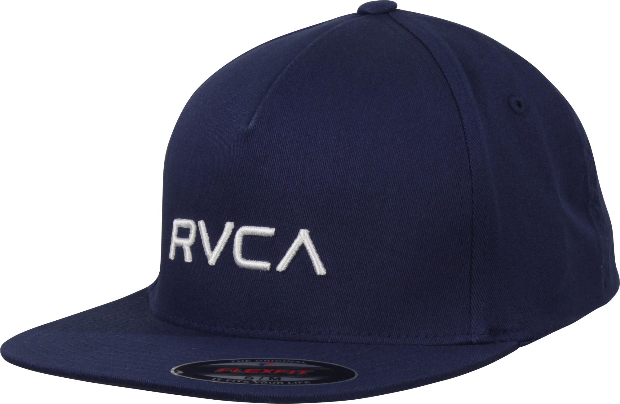 Details about RVCA Mens VA Sport Flexfit Hat - Seattle Blue 74092a4c710