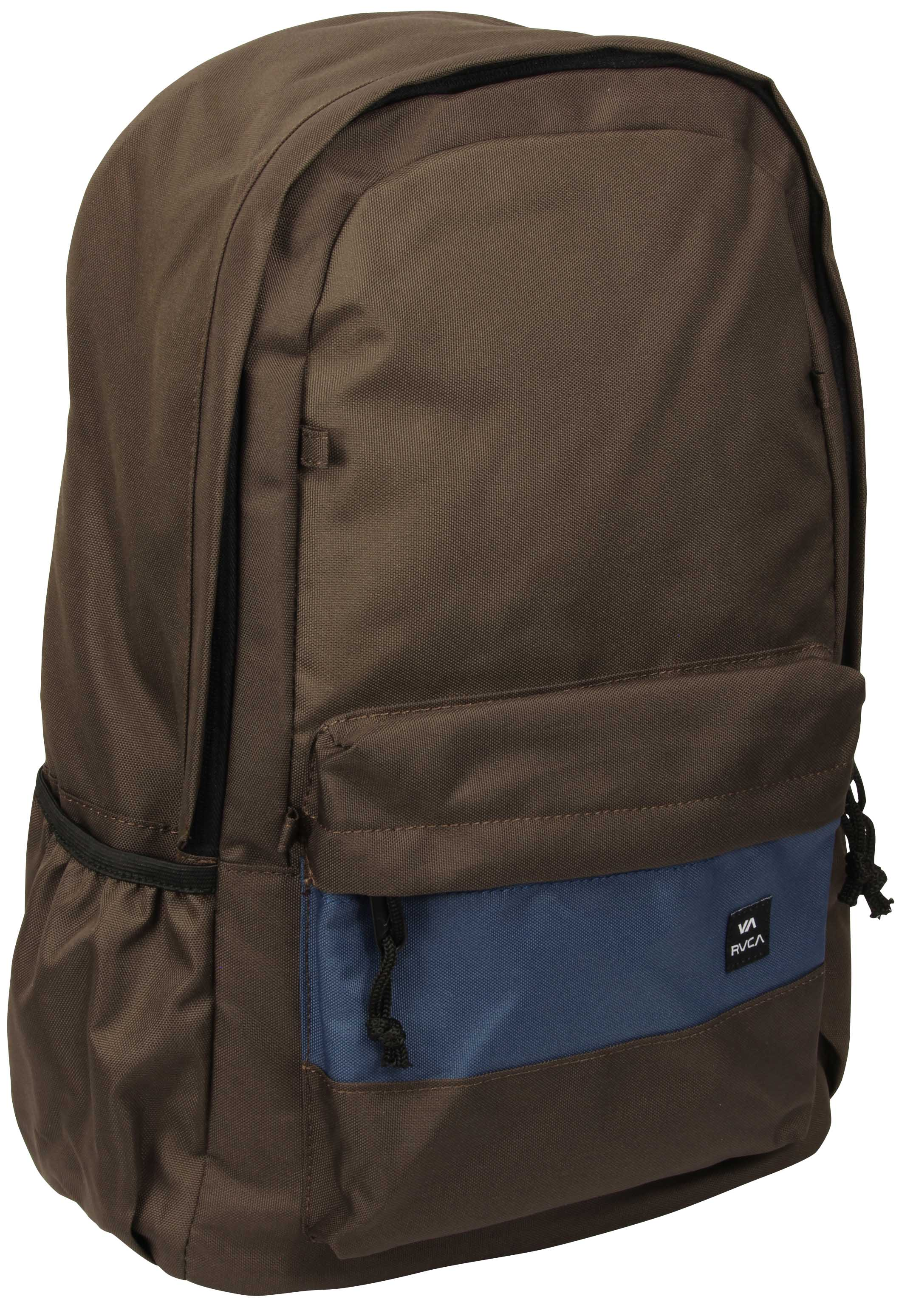 Details about RVCA Mens Unisex Frontside Medium All Purpose Backpack - Dark  Brown 7ab3e9ecc9aa5