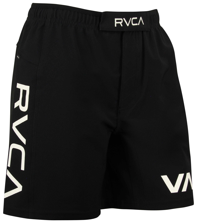 rvca va sport grappler shorts 17 black white ebay