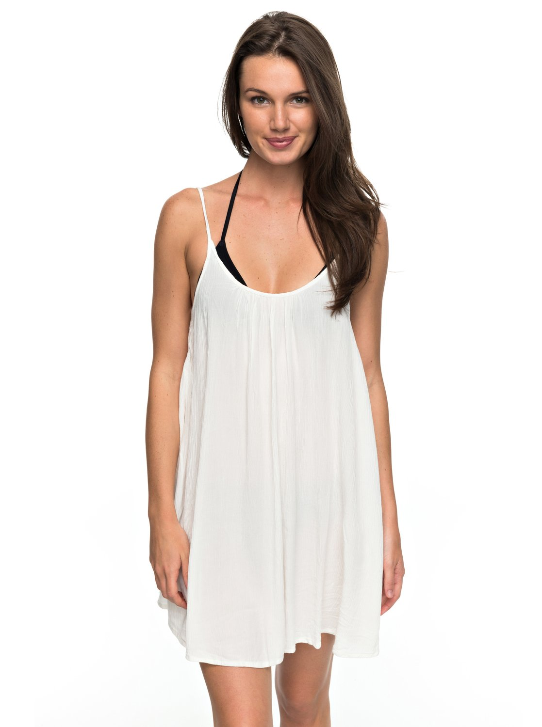 62f226ed69 Cover-up dress for women. Features include: style linked to swimwear, short  length, casual & unrestricted relaxed fit, lightweight, round neckline and  back ...