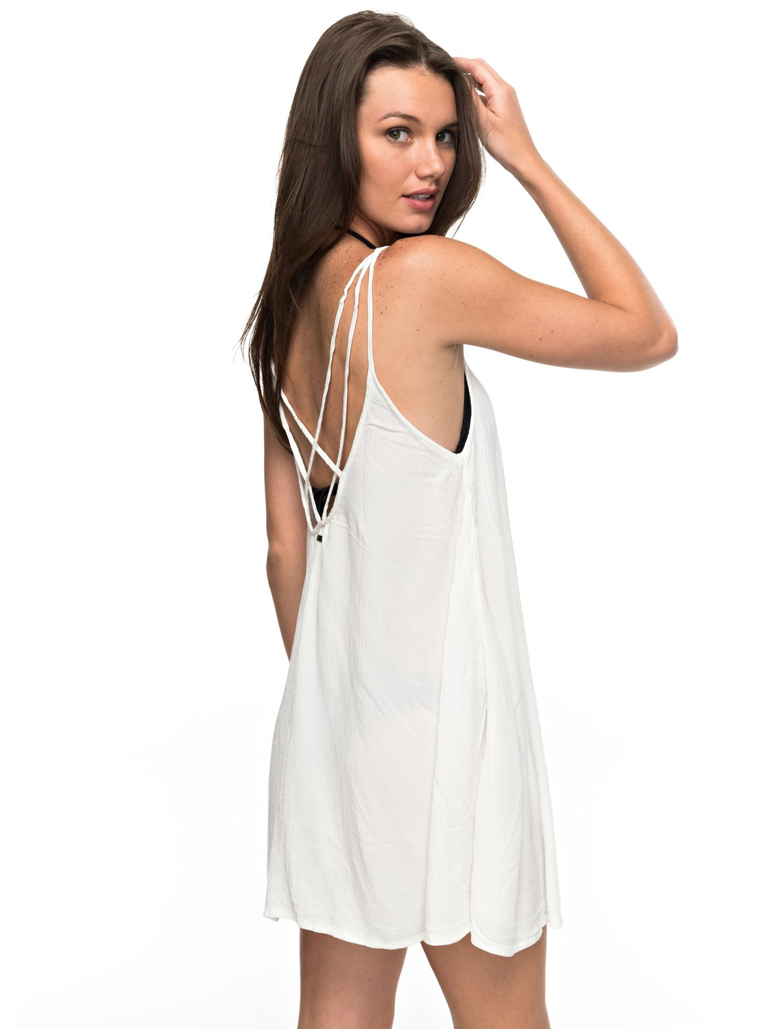 2d8ca4cade Cover-up dress for women. Features include: style linked to swimwear, short  length, casual & unrestricted relaxed fit, lightweight, round neckline and  back ...