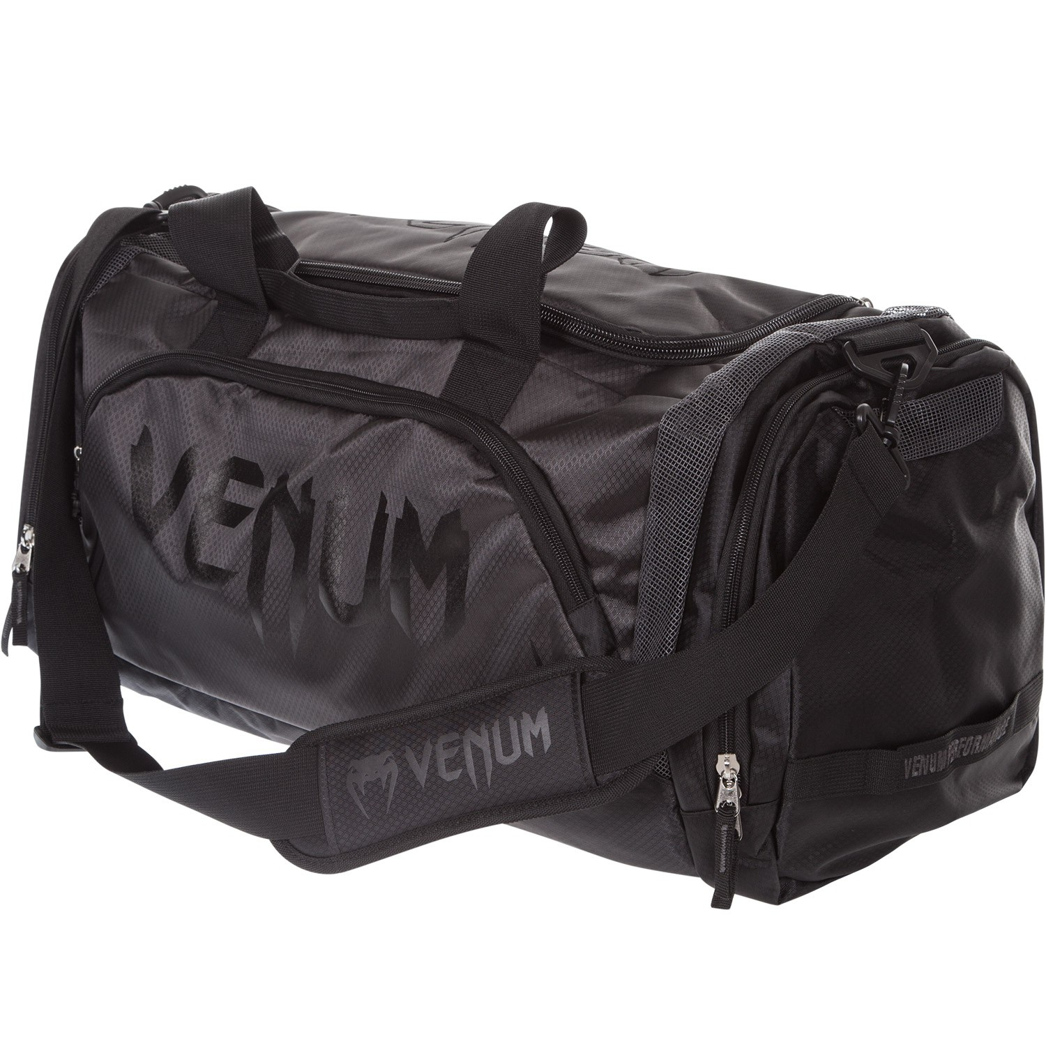 191f8949477b Venum Trainer Lite Sport MMA Boxing Duffle Gym Bag - All Black