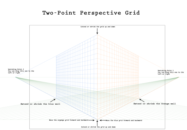 Two-point-Perspective-Grid