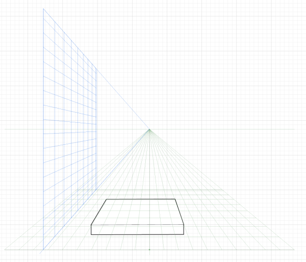 drawing perspective in photoshop illustrator a simple how to