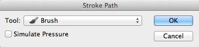 Stroke-Path-Dialogue