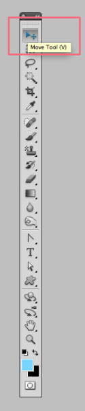 The Move Tool In The Tools Panel