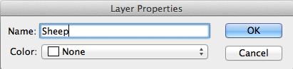 Layer-Properties Dialog