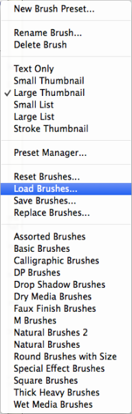 Load Brushes