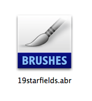 Downloaded Brush File Icon