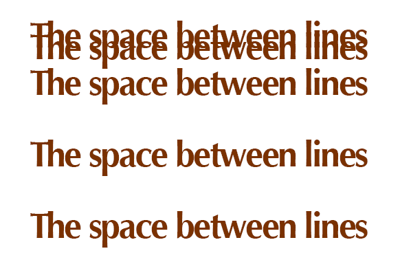 The Space-Bweetn-Lines