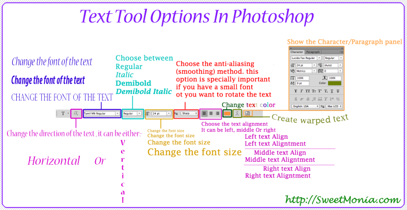Text-Tool-Options